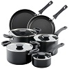 Farberware 10 Pc. Neat Nest Aluminum Cookware Set
